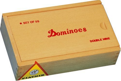 Domino Holzk.55 Steine