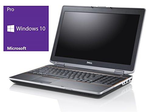 Dell Latitude E6420 Notebook | 14 Zoll Display | Intel Core i5-2520M @ 2,5 GHz | 4GB DDR3 RAM | 240GB SSD | DVD-Brenner | Windows 10 Pro vorinstalliert (Zertifiziert und Generalüberholt)