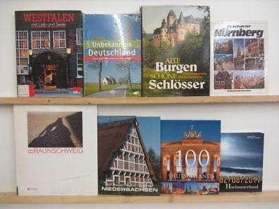 25 bücher bildbände deutschland deutsche bundesländer deutsche