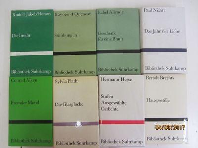 70 Bücher Romane Erzählungen Bibliothek suhrkamp Verlag