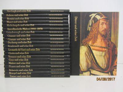 21 Bücher Bildbände Time Life Die Welt der Kunst Dürer und seine Zeit u.a.