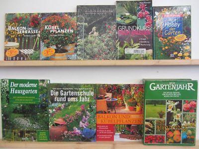 41 Bücher Garten gärtnern Gartengestaltung Gartenpflege Gartenkunst