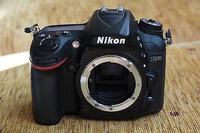 DSLR Kamera Nikon D7200 wie neu!!! nur 1177 Auslösungen mit Gewährleistung!