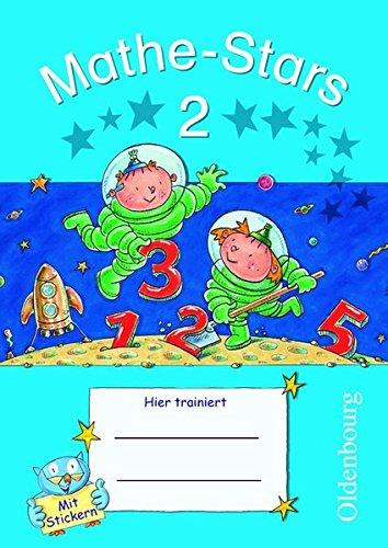 Mathe-Stars - 2. Schuljahr - Übungsheft mit Lösungsheft