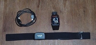Polar M400 schwarz Pulsuhr inkl. Polar Bluetooth H7 Herzfrequenzsensor