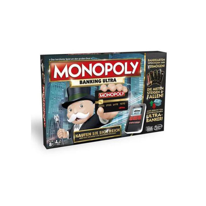Hasbro Monopoly Banking Ultra B6677 Familienspiel Gesellschaftsspiel NEU OVP