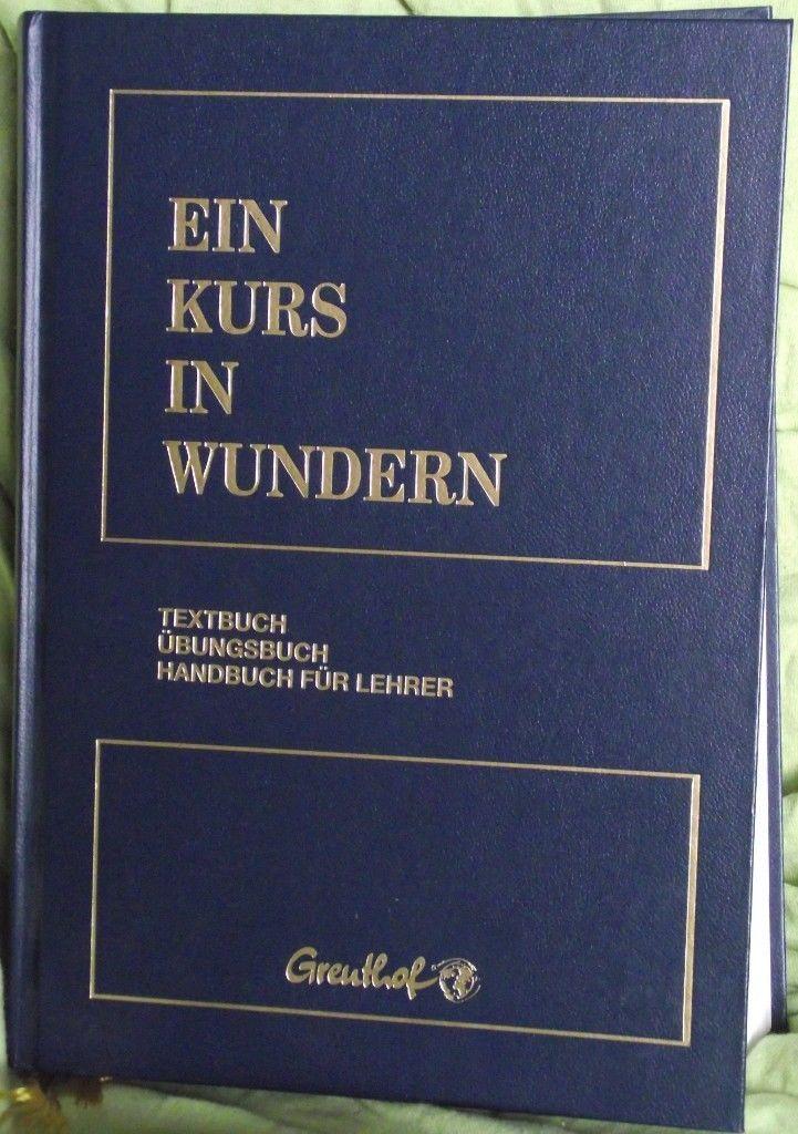 Buch: Ein Kurs in Wundern (9. gebundene Ausgabe 2010), fast neuwertig