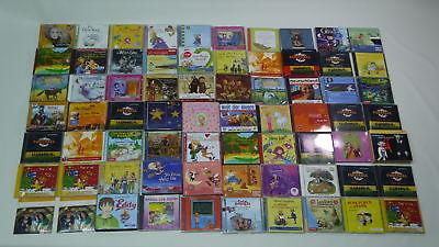 XXL-Sammlung: CDs Hörbücher/Hörspiele für Kinder [129 Stück]