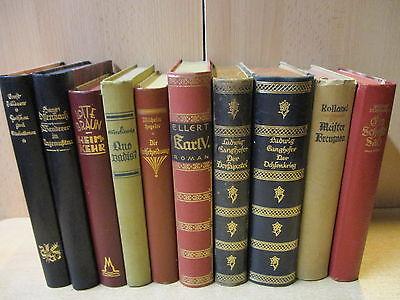 15 Antiquarische Bücher bis 1945 Bücherpaket Konvolut alte Bücher