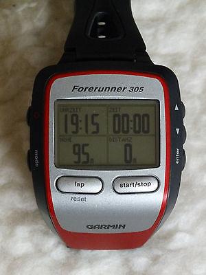 Garmin Forerunner 305 Outdoor GPS Uhr sehr guter Zustand !!!
