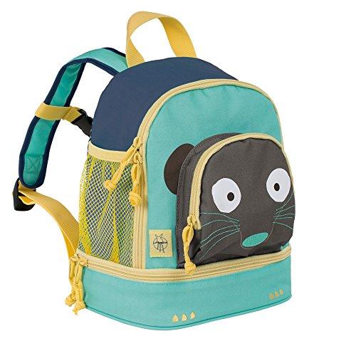Lässig Mini Backpack Kinderrucksack Kindergartentasche, Brotdosenfach unten, Erdmännchen