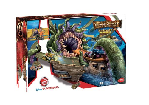 Dickie 3089220 - Disney Racing Kraken Attack, inklusive 2 Autos