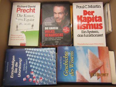 37 Bücher Sachbücher Wissenschaft Wirtschaft Politik Zeitgeschichte