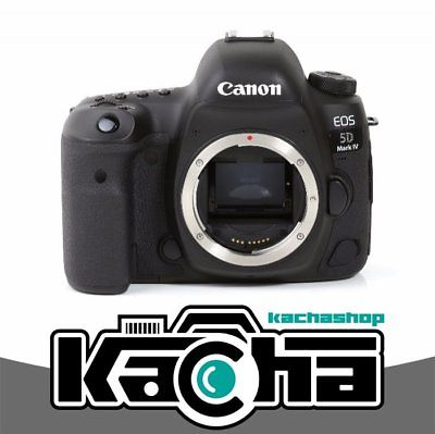 NEU Canon EOS 5D Mark IV DSLR 30.4MP Full-Frame Camera Touchscreen (Body Only)