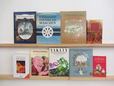 42 Bücher Märchenbücher Märchen nationale und internationale Märchen