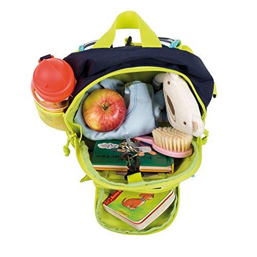 Lässig Kindergartenrucksack Kindergartentasche, Mini Backpack Little Monsters Bouncing Bob, Türkis Kinder-Rucksack, 27 cm, Bunt