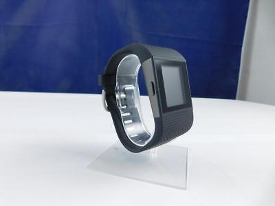 FITBIT Fitness Super Watch Sportuhr Armbanduhr Gps-Uhr Surge Schwarz, Gr.L