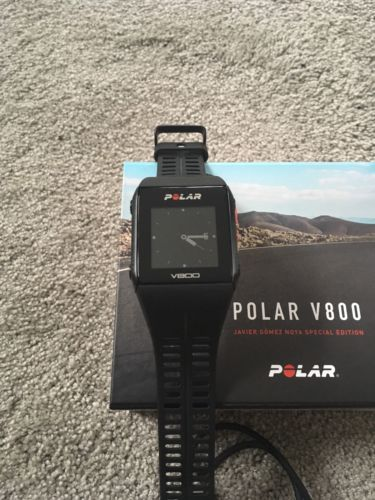 Polar V800 HR Special Edition Top Zustand OVP Kompl. schwarz