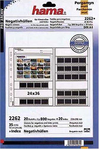 Hama Kleinbild-Archivhüllen 230 x 290 mm (20 St.)