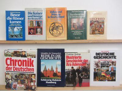 23 Bücher Bildbände Kunst Kultur Geschichte deutsche Geschichte