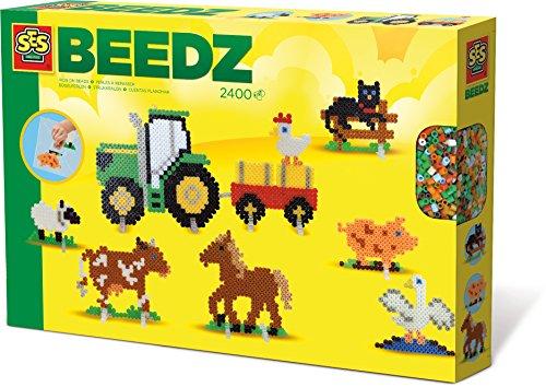 SES creative 06074 - Bügelperlenset Bauernhof