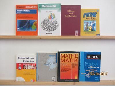55 Bücher Mathematik Mathe Rechnen Schulbücher Fachbücher