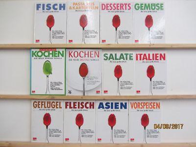 12 Bücher Kochbücher Die neue große Schule nationale und internationale Küche