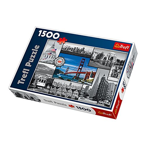 Small Foot Company 8747 - Puzzle San Francisco, 1500 Teile