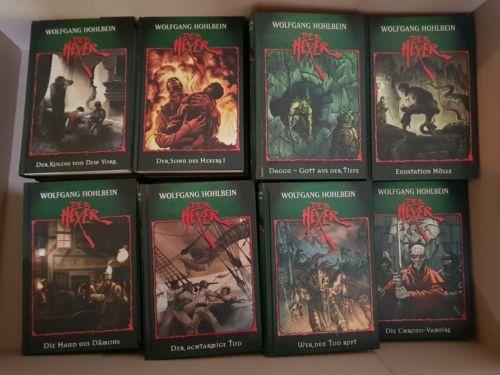 Bücherpaket der Hexer Band 1-24, Wolfgang Hohlbein, Grusel, Magic, Hexen, Jugend