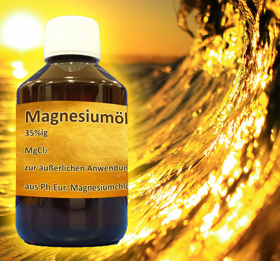 1 Liter Magnesiumöl MgCI2 Magnesiumchlorid Hexahydrat Zellenpflege 1000 ml