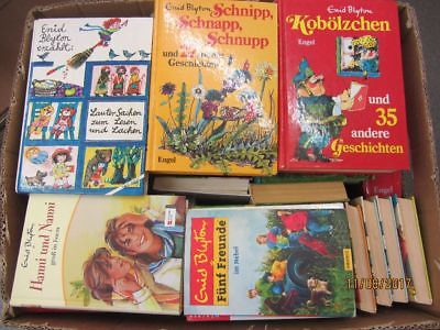 Enid Blyton 55 Bücher Kinderromane Jugendromane 5 Freunde Hanni und Nanni u.a.