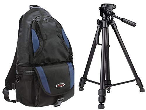 Foto Kamera Tasche Rucksack Adventure All-In-One Set mit Foto und Video Stativ PRO LIGHT TPA-04