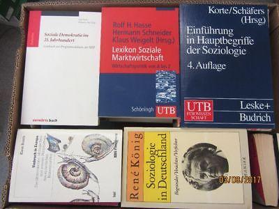 54 Bücher Soziologie Empirische Sozialforschung Sozialgeschichte Demografie