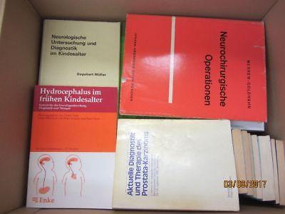 68 Bücher medizinische Fachbücher Diagnostik Chirurgie verschiedene Fachgebiete