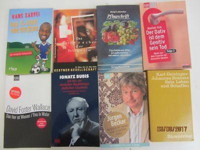 147 Bücher Taschenbücher verschiedene Verlage