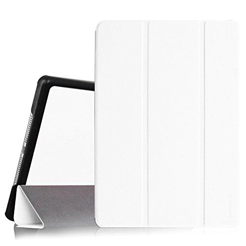 Fintie iPad Air 2 Hülle - Ultradünn Superleicht Smart Cover Schutzhülle Tasche Case mit Ständer und Auto Sleep / Wake Funktion für Apple iPad Air 2 (iPad 6 6th Generation), Weiß