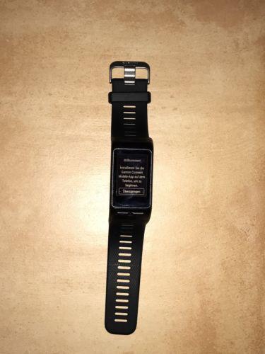 Garmin Vivoactive HR Smartwatch - Schwarz - Herfrequenzmessung am Handgelenk