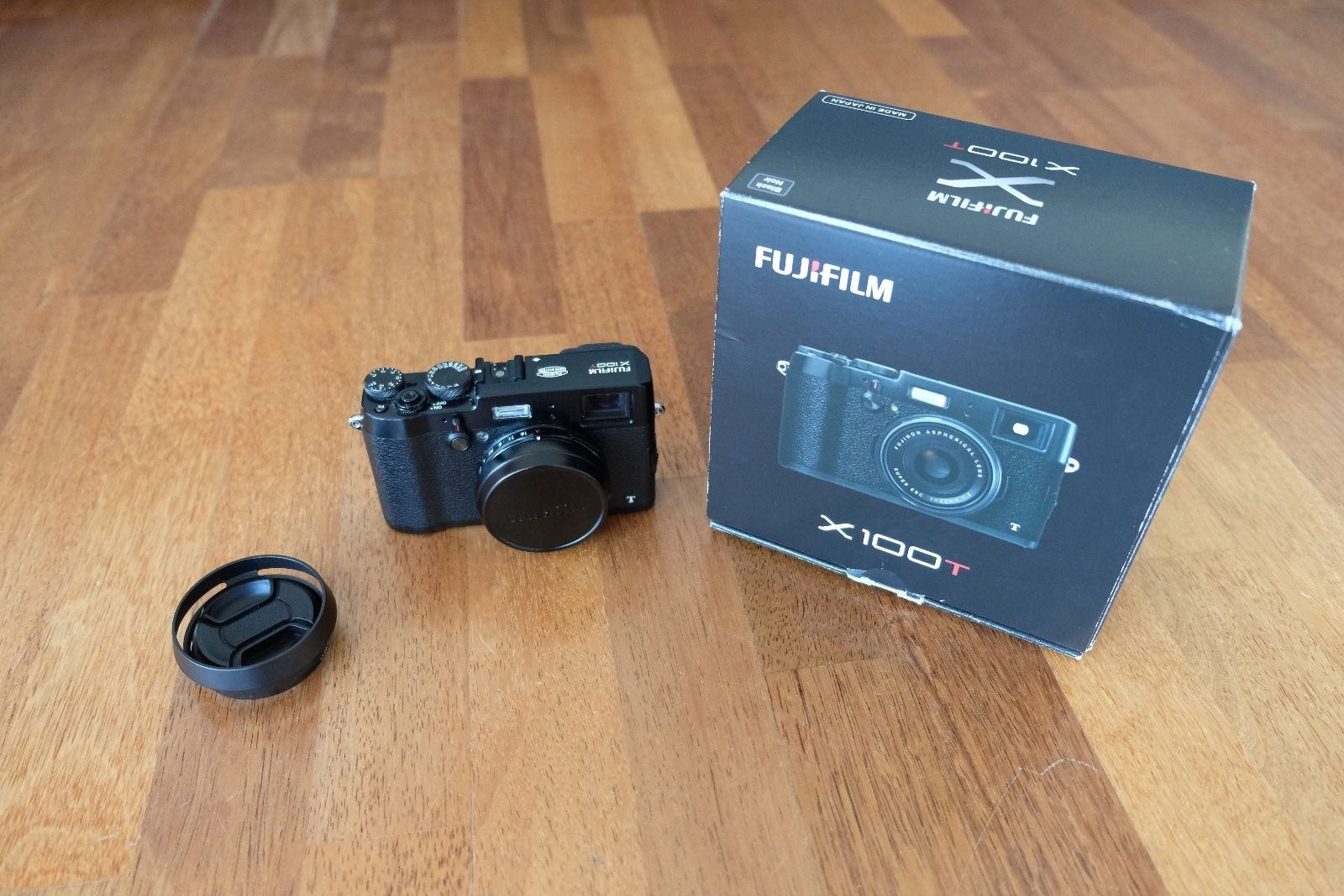 Fujifilm FinePix X Series X100T 16.3MP Digitalkamera Fuji - Schwarz