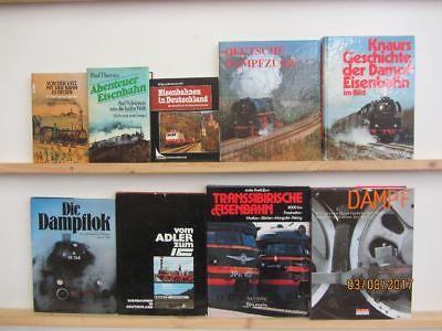 26 Bücher Bildbände Eisenbahn Dampfeisenbahn Dampfzüge IC