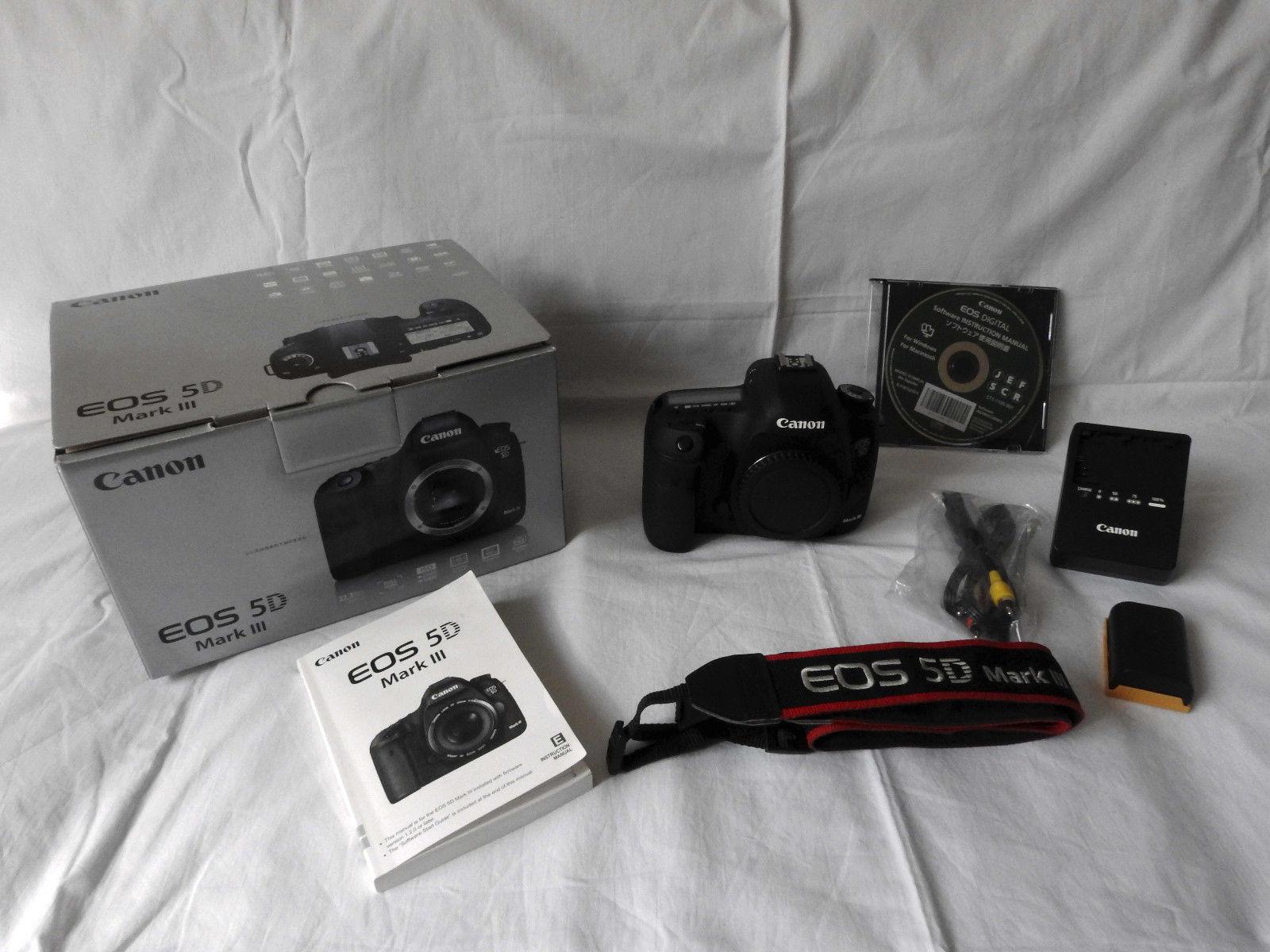 Canon EOS 5D Mark III wie NEU!!! noch 10Mon. Restgar. ca. 13.600 Auslösungen