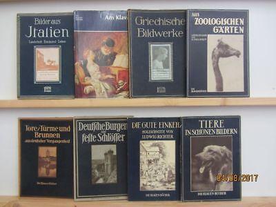 29 Bücher Sachbücher Die blauen Bücher teilweise antiquarisch