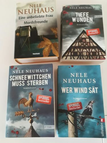 Bücherpaket Nele Neuhaus