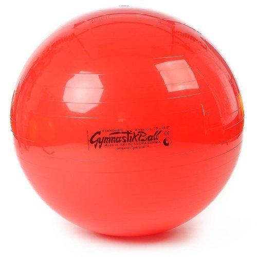 Original Pezzi Gymnastikball Pezziball Sitzball Therapieball Standard 75 cm rot