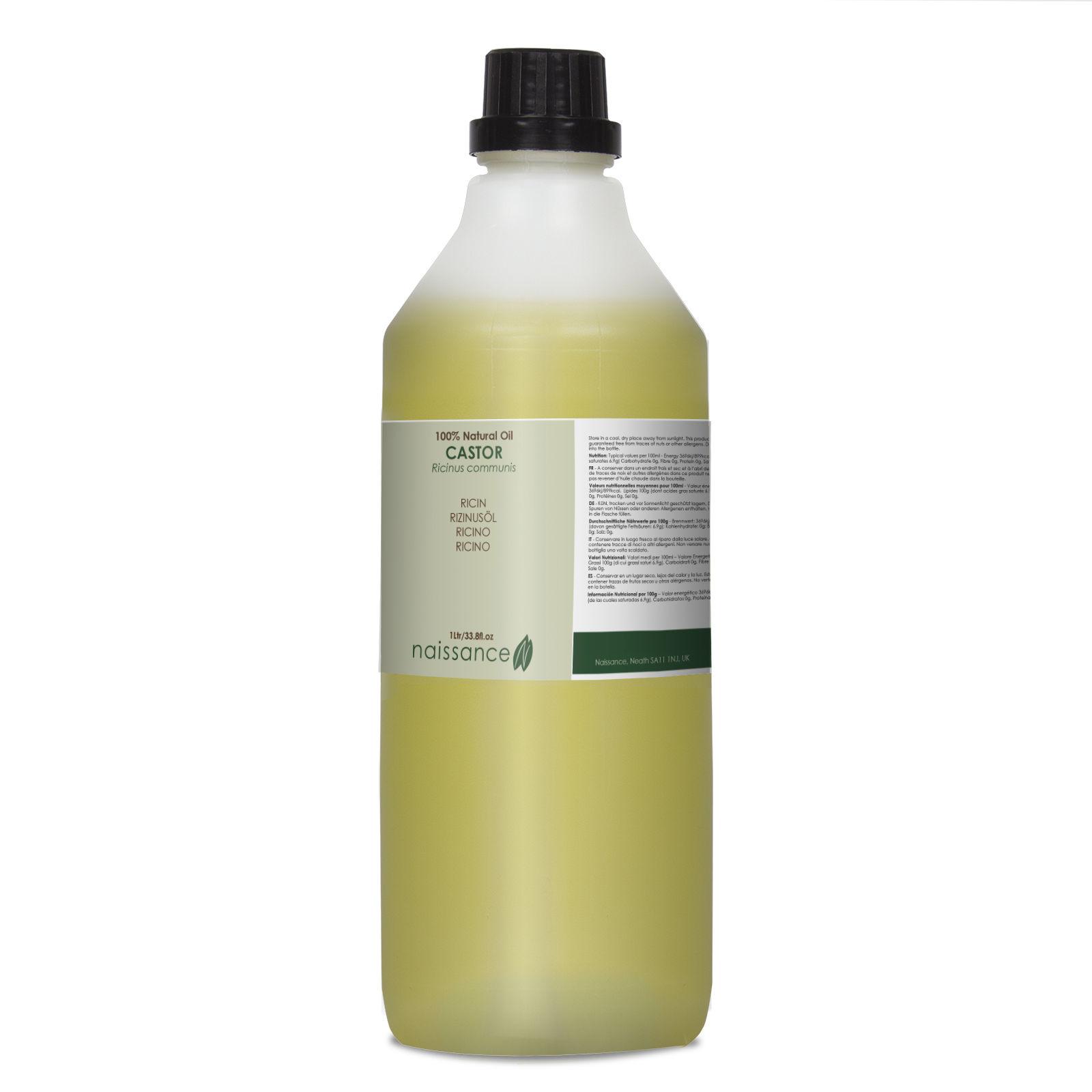 Naissance Rizinusöl - 1 Liter ( 1000ml ) - 100% rein