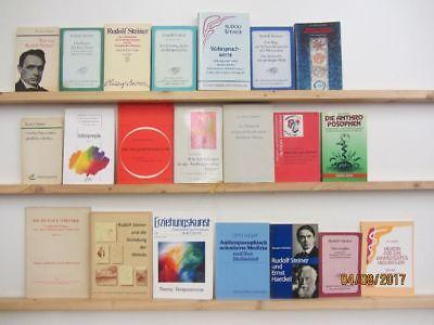 Rudolf Steiner 21 Bücher Hefte Anthroposophie Waldorfpädagogik Erziehung