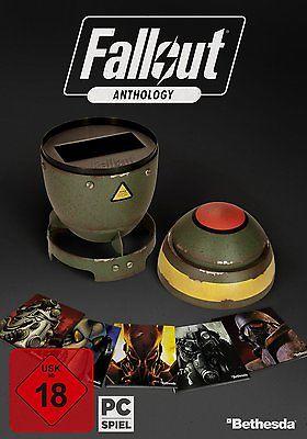 Fallout Anthology - Rare Retail Box mit Mini Nuke - PC Version