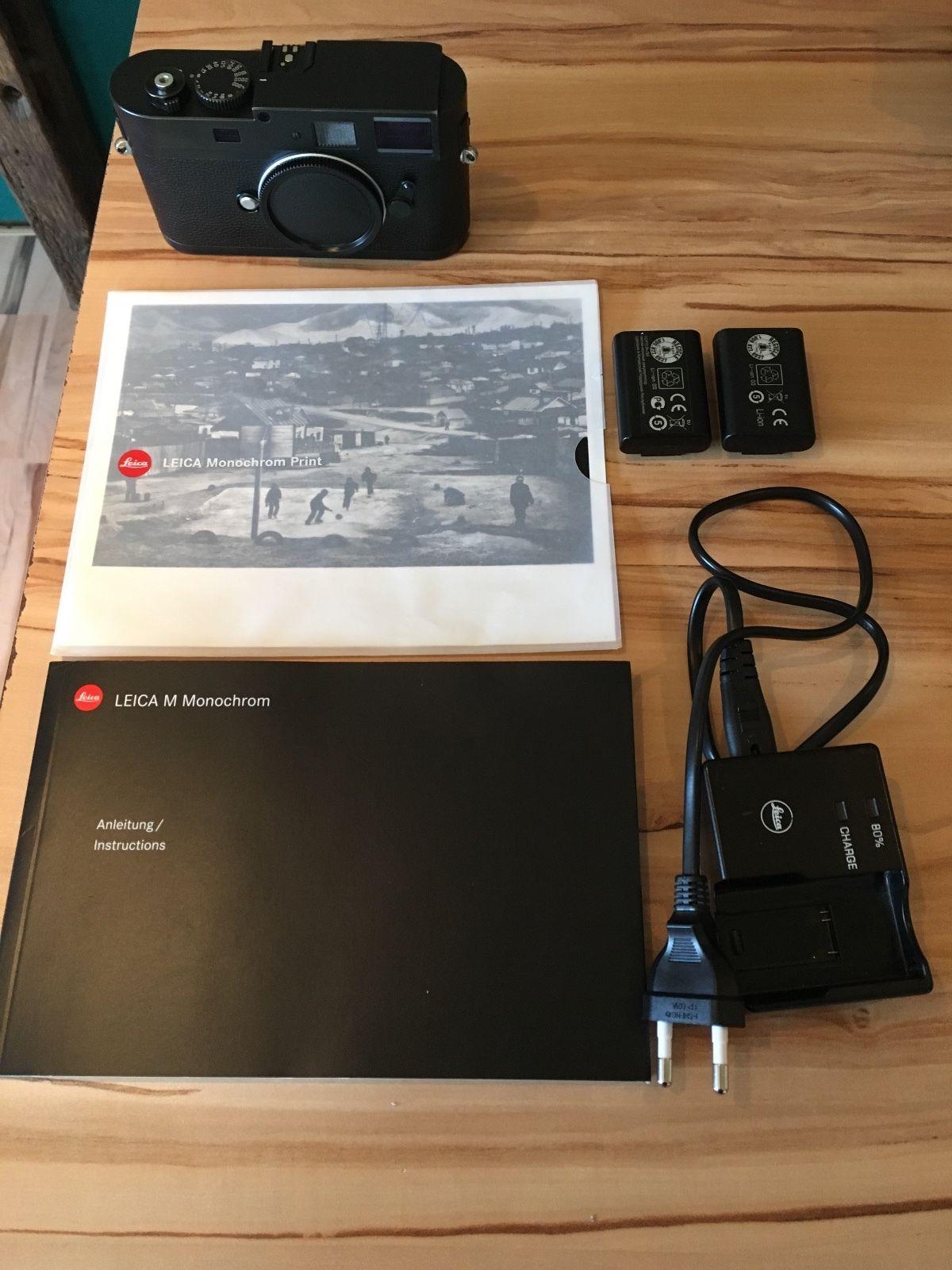 Leica M Monochrom schwarz
