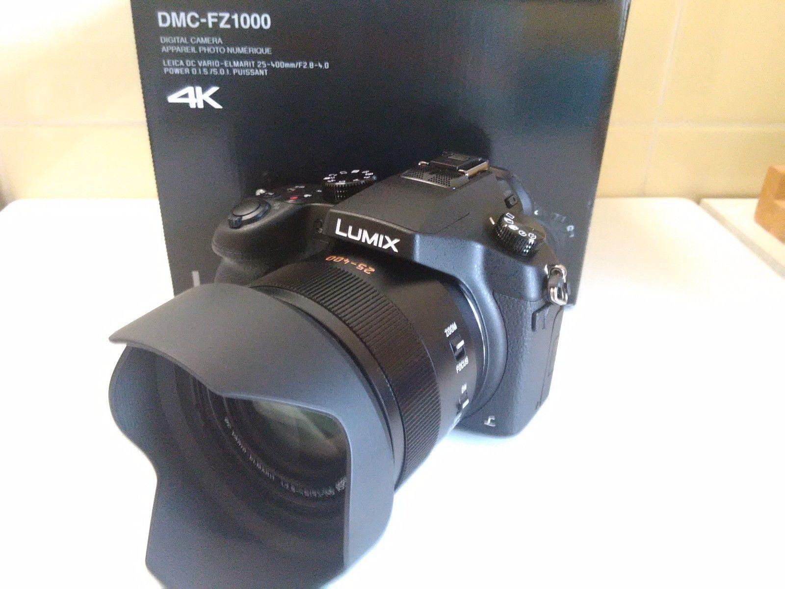 Panasonic LUMIX FZ1000 + neuwertig+ ovp + Garantie