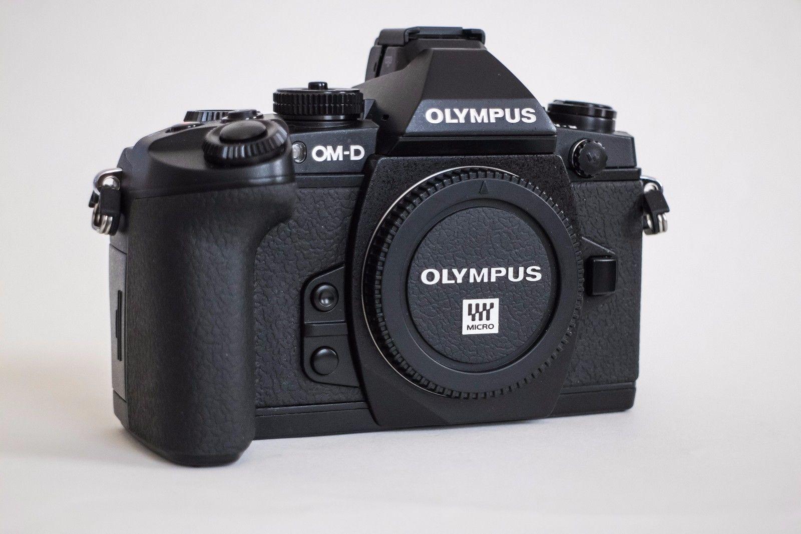 Olympus OM-D E-M1 Gehäuse/body (black) + Batteriegriff HLD-7