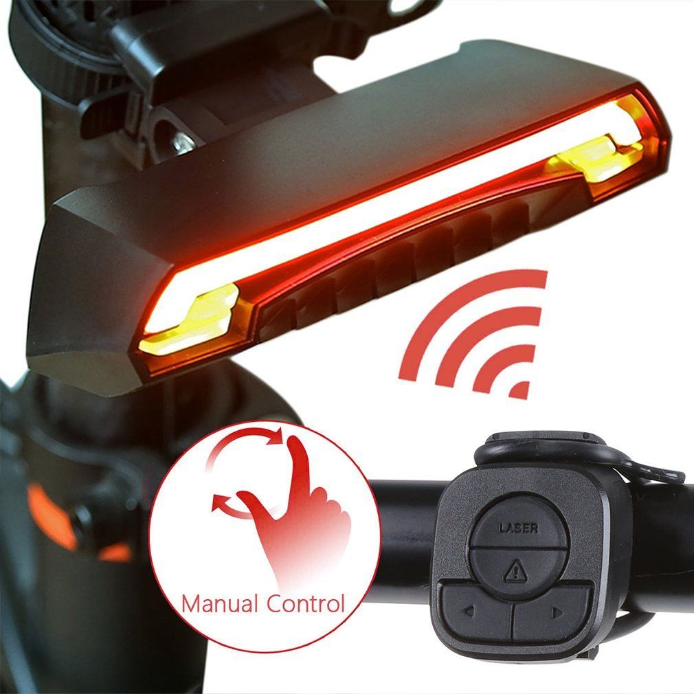 Wiederaufladbar LED Rücklicht Fahrrad Farben Fahrradlicht Fahrradlampe ZL